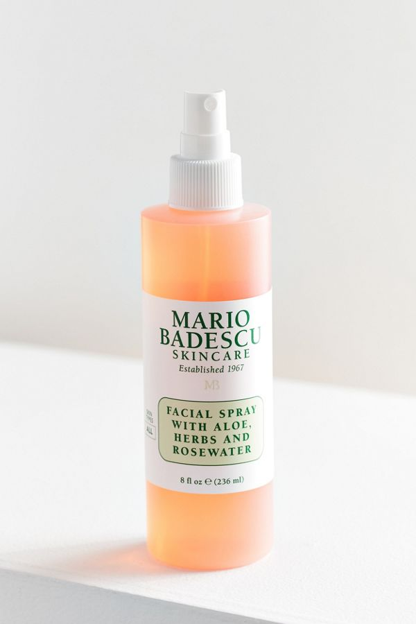 Mario Badescu Facial Spray With Aloe Herbs And Rosewater 8 Oz
