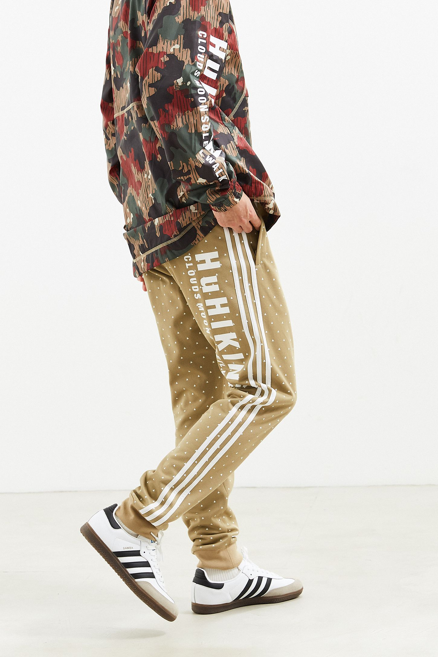 1ff97ffa2d8a4 adidas X Pharrell Williams Hu Hiking Sidestripe Track Pant