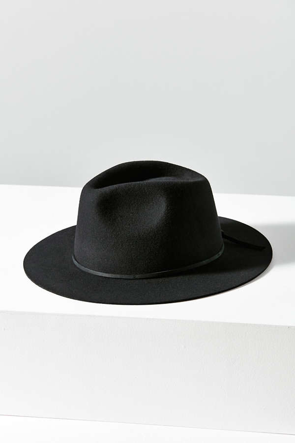 c3e77b273b2 Brixton Wesley Fedora   Urban Outfitters