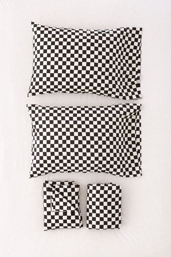 Checkered Sheet Set Urban Outfitters
