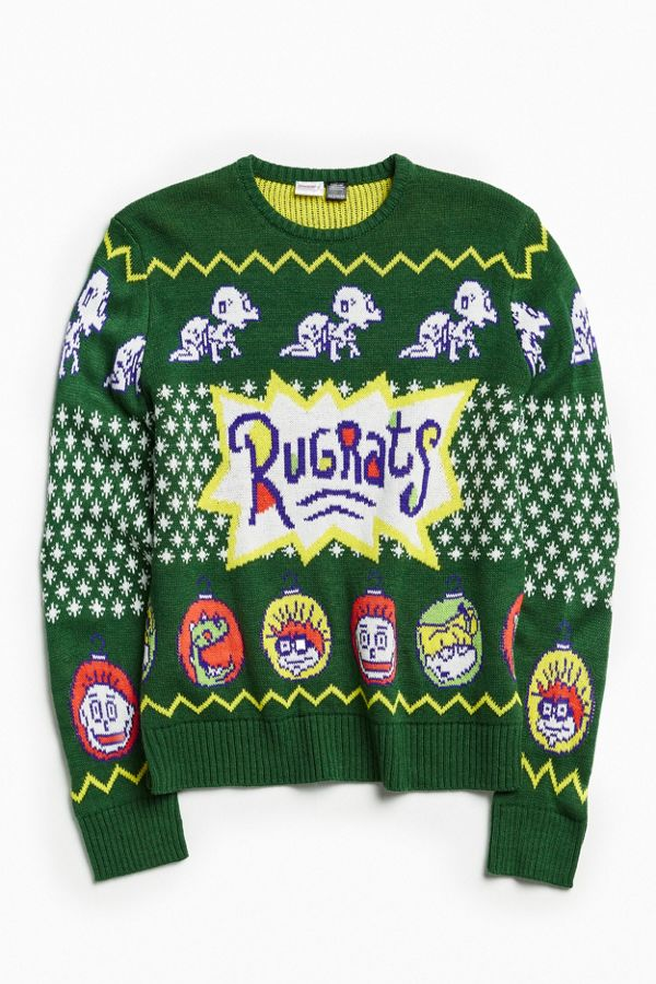Urban Outfitters Ugly Christmas Sweater.Rugrats Holiday Sweater