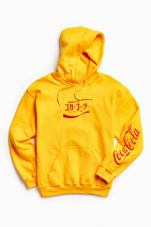 a0d07a54fe8 Coca-Cola Embroidered Hoodie Sweatshirt