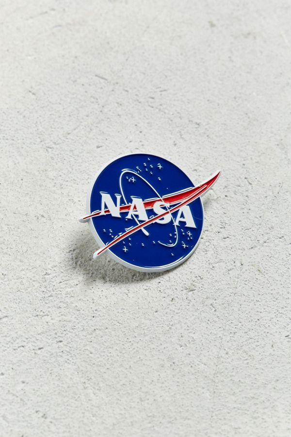 8076ec203bb161 Slide View  1  NASA Meatball Logo Pin