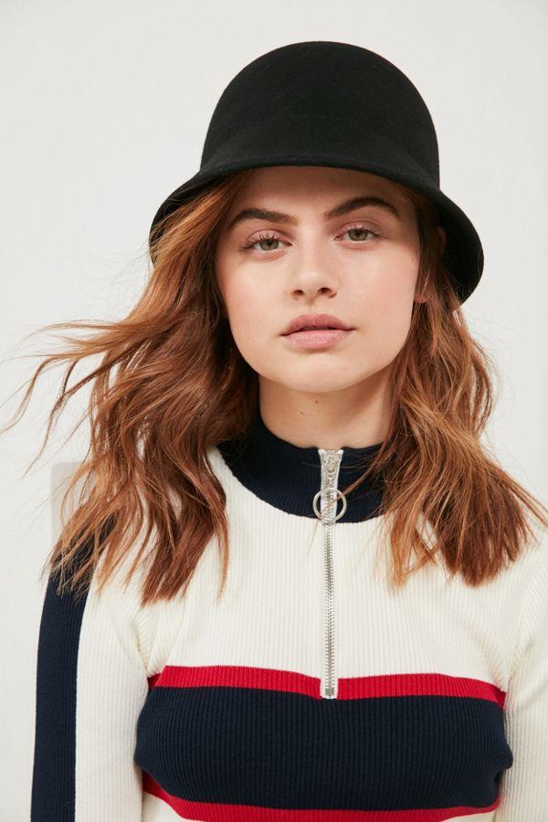 6e1b078d16 Felt Bucket Hat