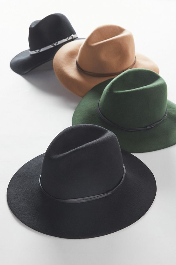 ea5716b15 UO Anna Felt Panama Hat