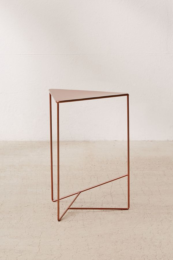 new york d84cb aada4 Triangle Side Table
