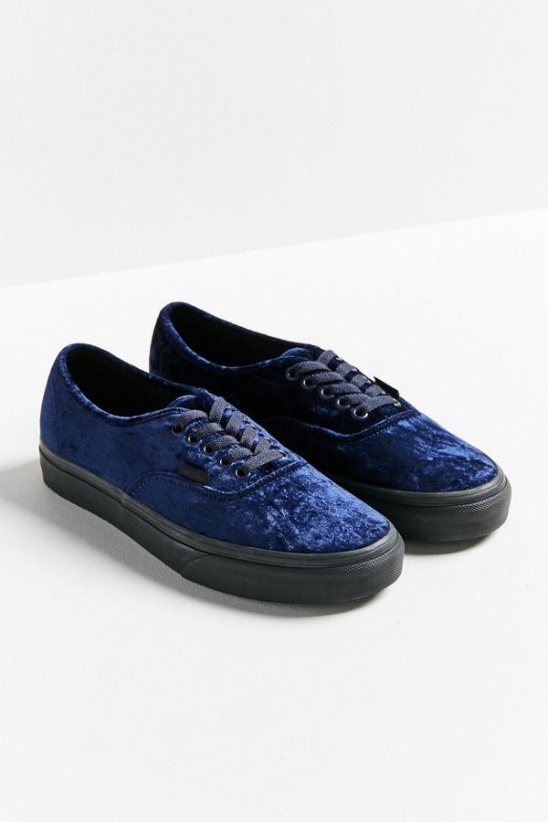 810ab3f7cf4 Vans Velvet Authentic Sneaker