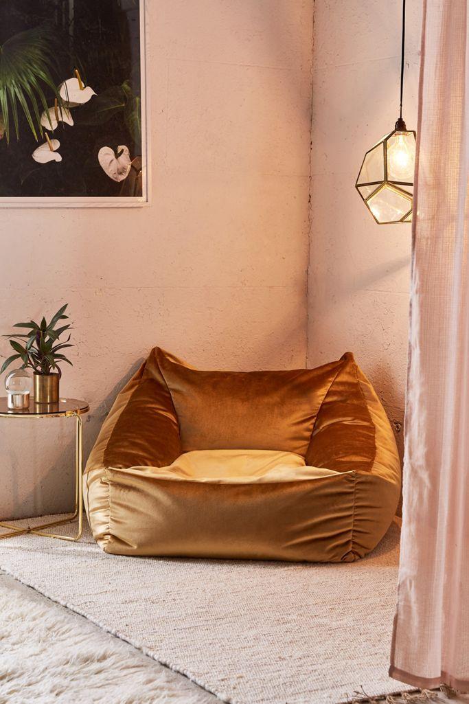 Cooper Velvet Lounge Chair Urban