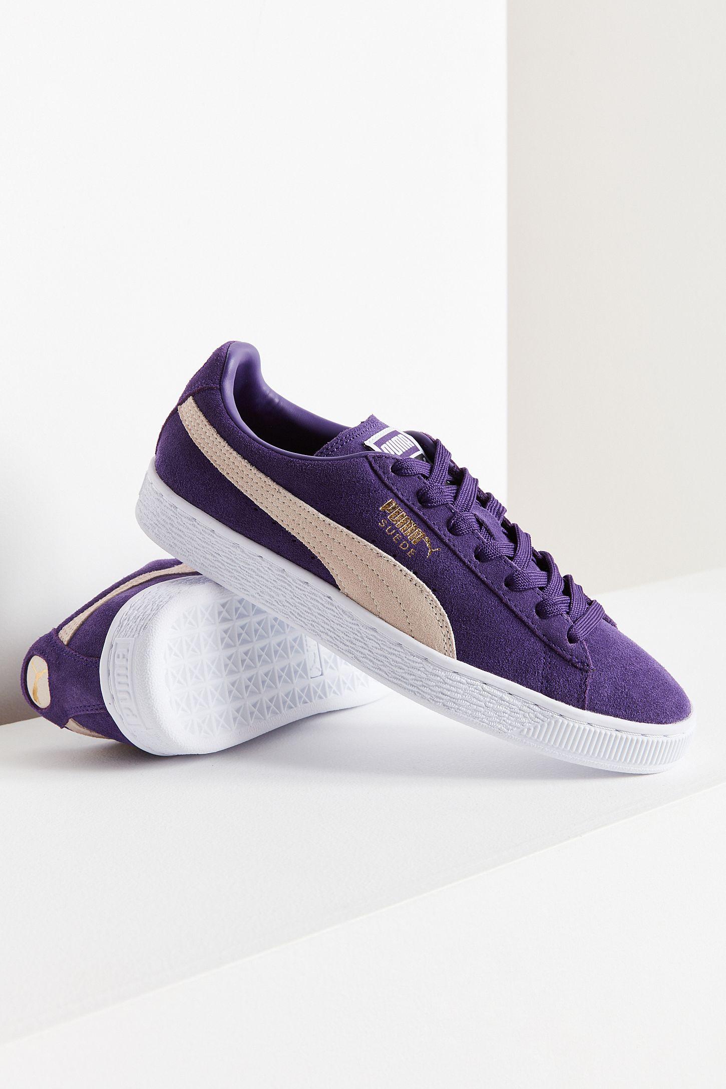 574027849dd8 Puma Suede Classic+ Purple Sneaker