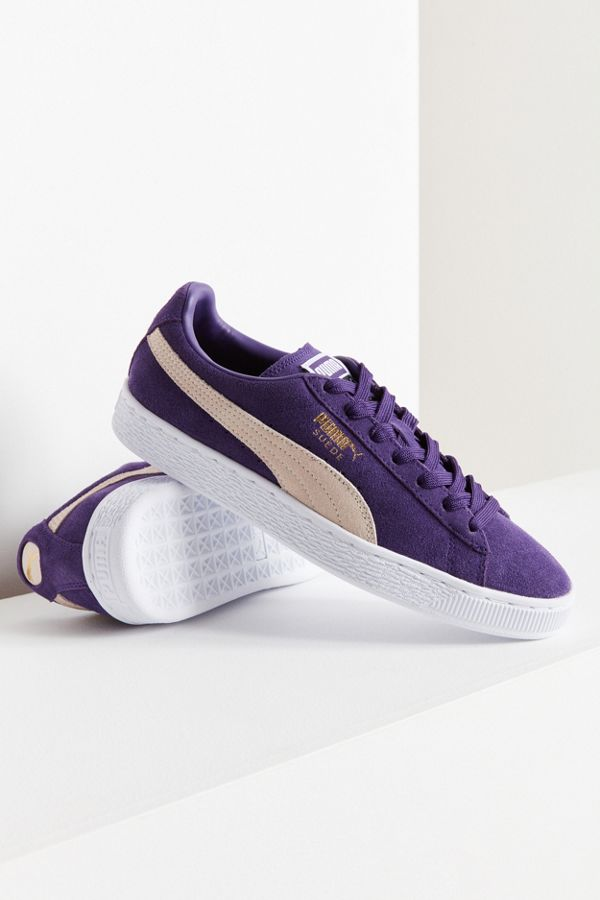 reputable site acbb0 80bb8 Puma Suede Classic+ Purple Sneaker