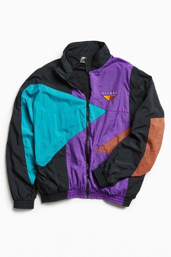 865dbca9f8d0 Vintage Nike Purple Windbreaker Jacket