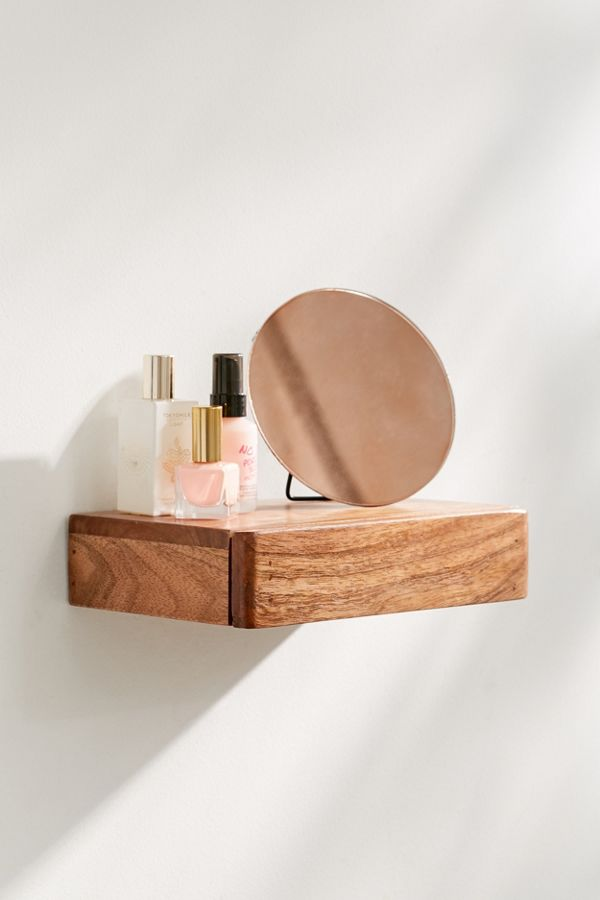 Drawer Floating Wall Shelf Urban Outfitters