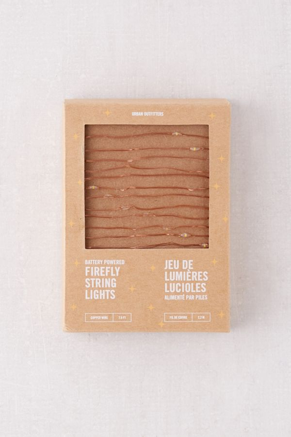 07450924840e Firefly Battery Powered String Lights | Urban Outfitters