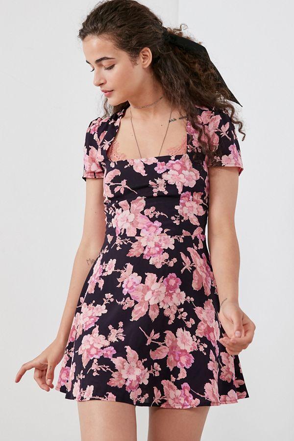 769e7efb960c Flynn Skye Maiden Square-Neck Mini Dress | Urban Outfitters