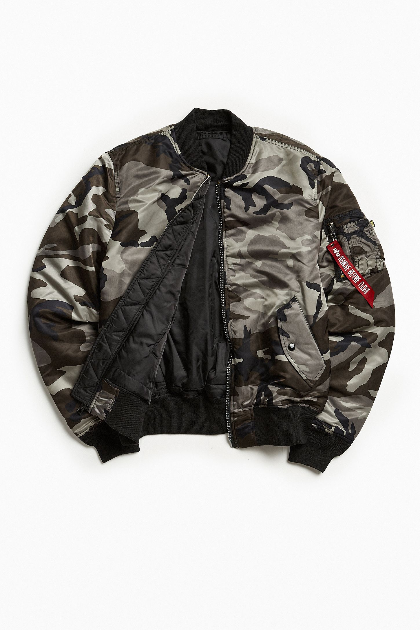 f1666941b6b Alpha Industries MA-1 Slim Fit Bomber Jacket. Tap image to zoom. Hover to  zoom. Double Tap to Zoom