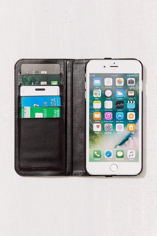new concept 1fda9 b3519 HEX Leather Wallet iPhone 8/7/6/6s Plus Case