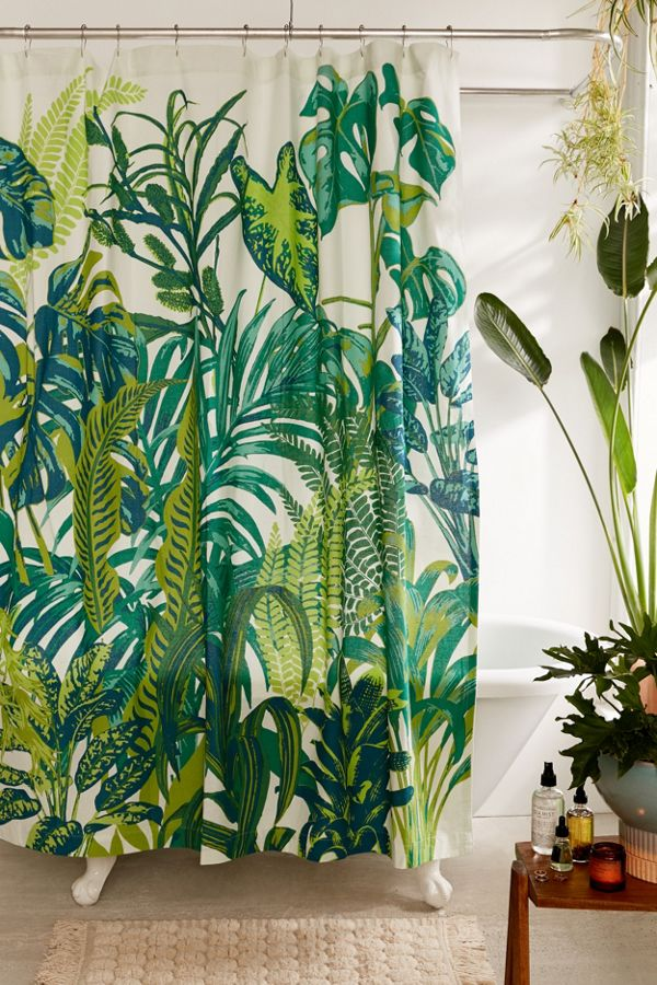 Slide View 1 Dreamy Jungle Shower Curtain