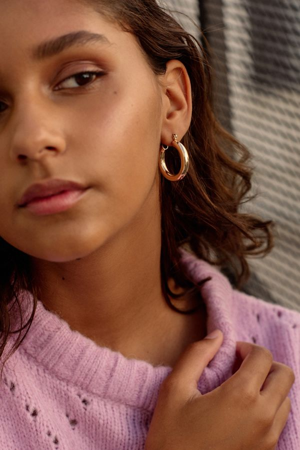 1bc2da45e51c66 Chunky Hoop Earring | Urban Outfitters