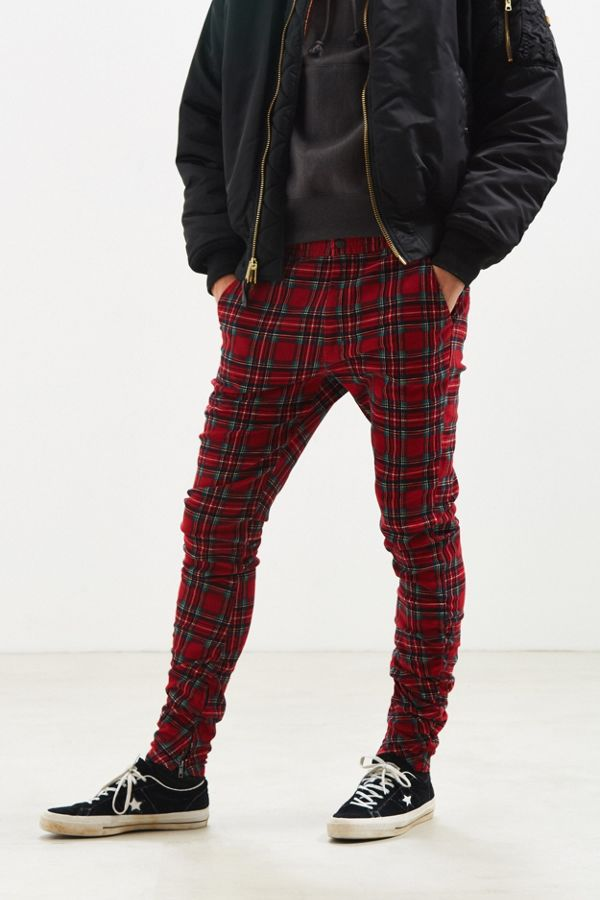 b71a80530dfc5f UO Tartan Stacked Pant | Urban Outfitters