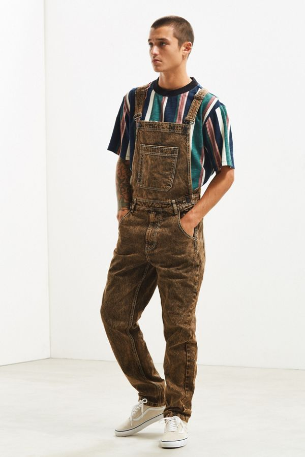 2e20925c7f2 BDG Overdyed Acid Wash Overall