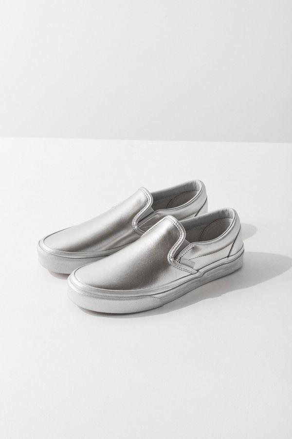 6fa368a4fea25 Vans Metallic Sidewall Classic Slip-On Sneaker | Urban Outfitters