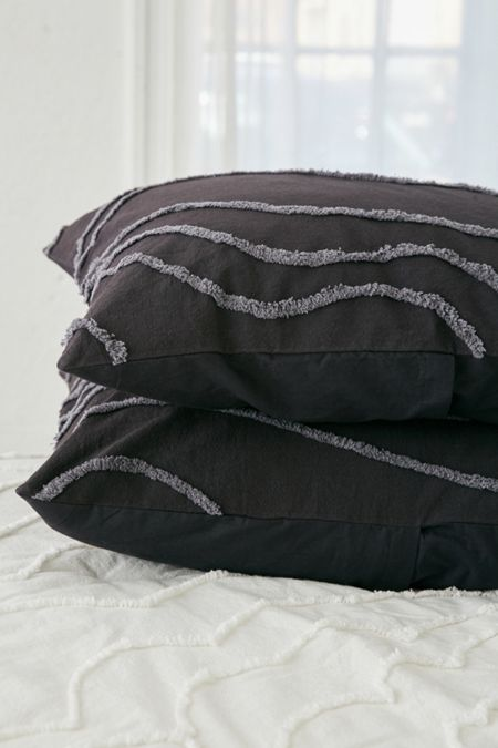 Slide View: 1: Margot Tufted Floral Sham Set