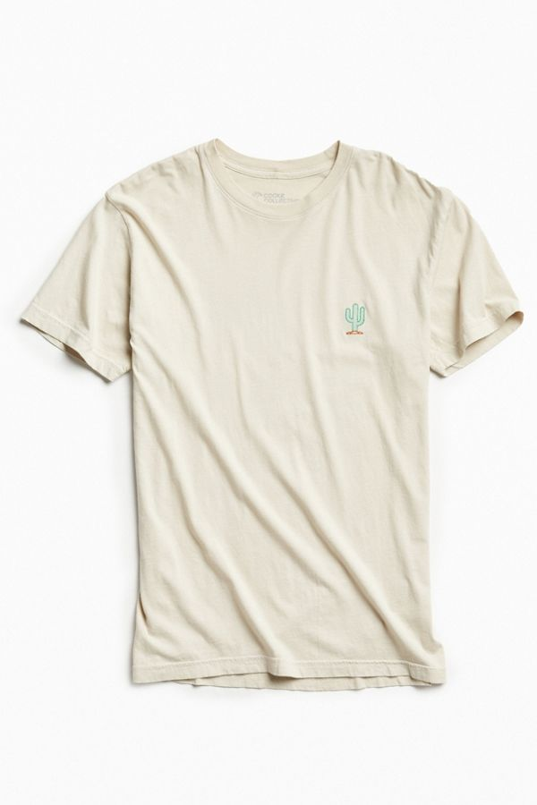 14b92eb62 Embroidered Cactus Tee   Urban Outfitters