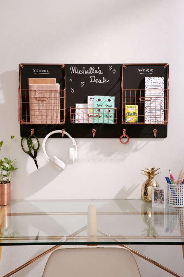 Chalkboard Wall Storage Organizer Urban Outfitters