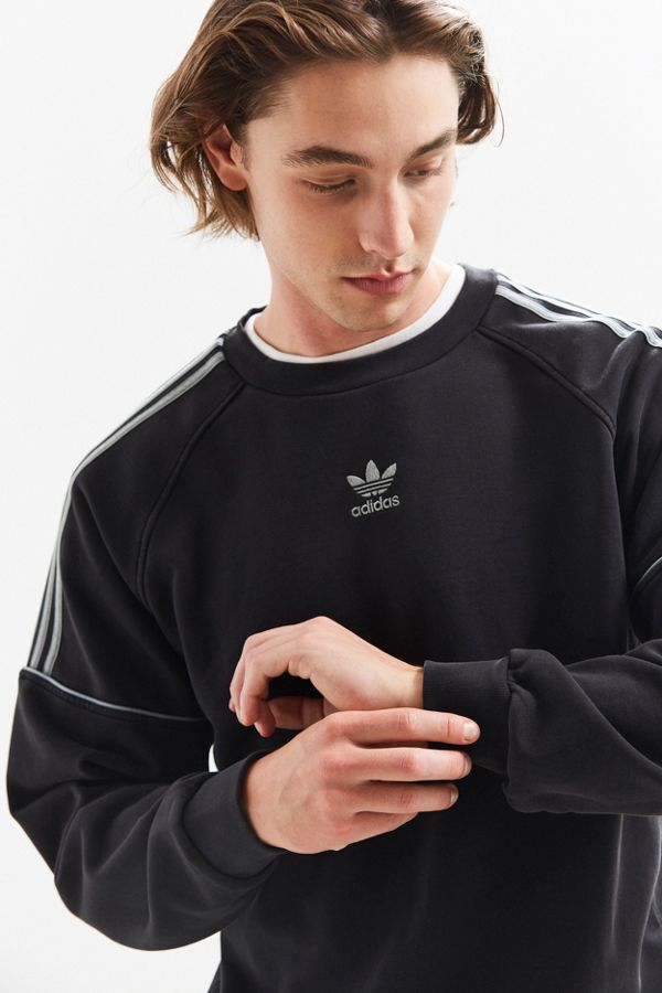 low cost save up to 80% good selling adidas Pipe Crew Neck Sweatshirt