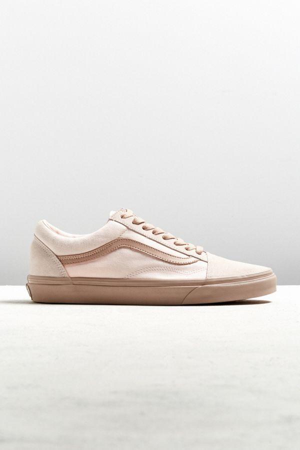 798ebcea7ed6e5 Vans Old Skool Mono Pearl Mahogany Sneaker