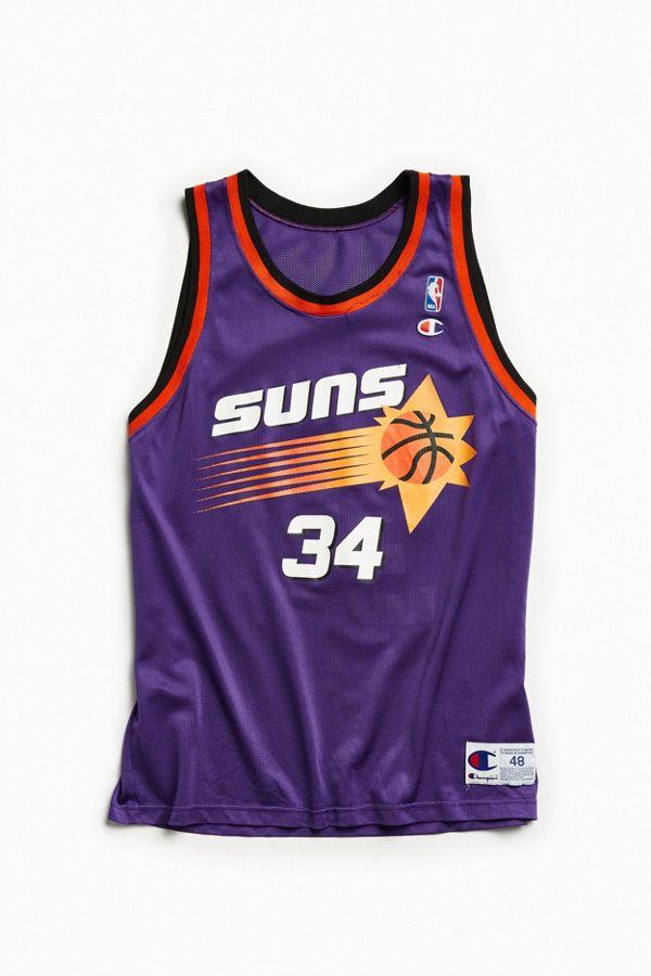 timeless design 02f36 5aa63 Vintage Phoenix Suns Charles Barkley Basketball Jersey