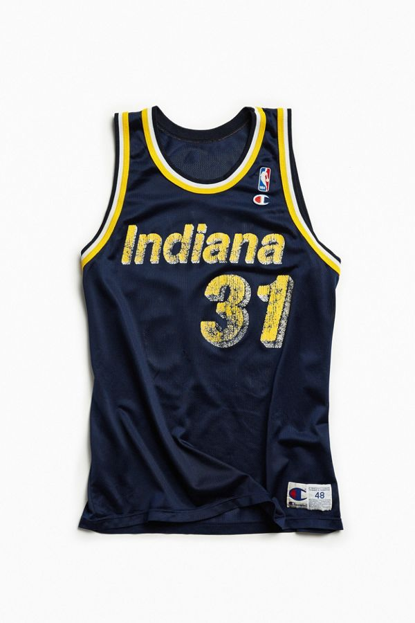 premium selection 9a015 3dedf Vintage Indiana Pacers Reggie Miller Basketball Jersey