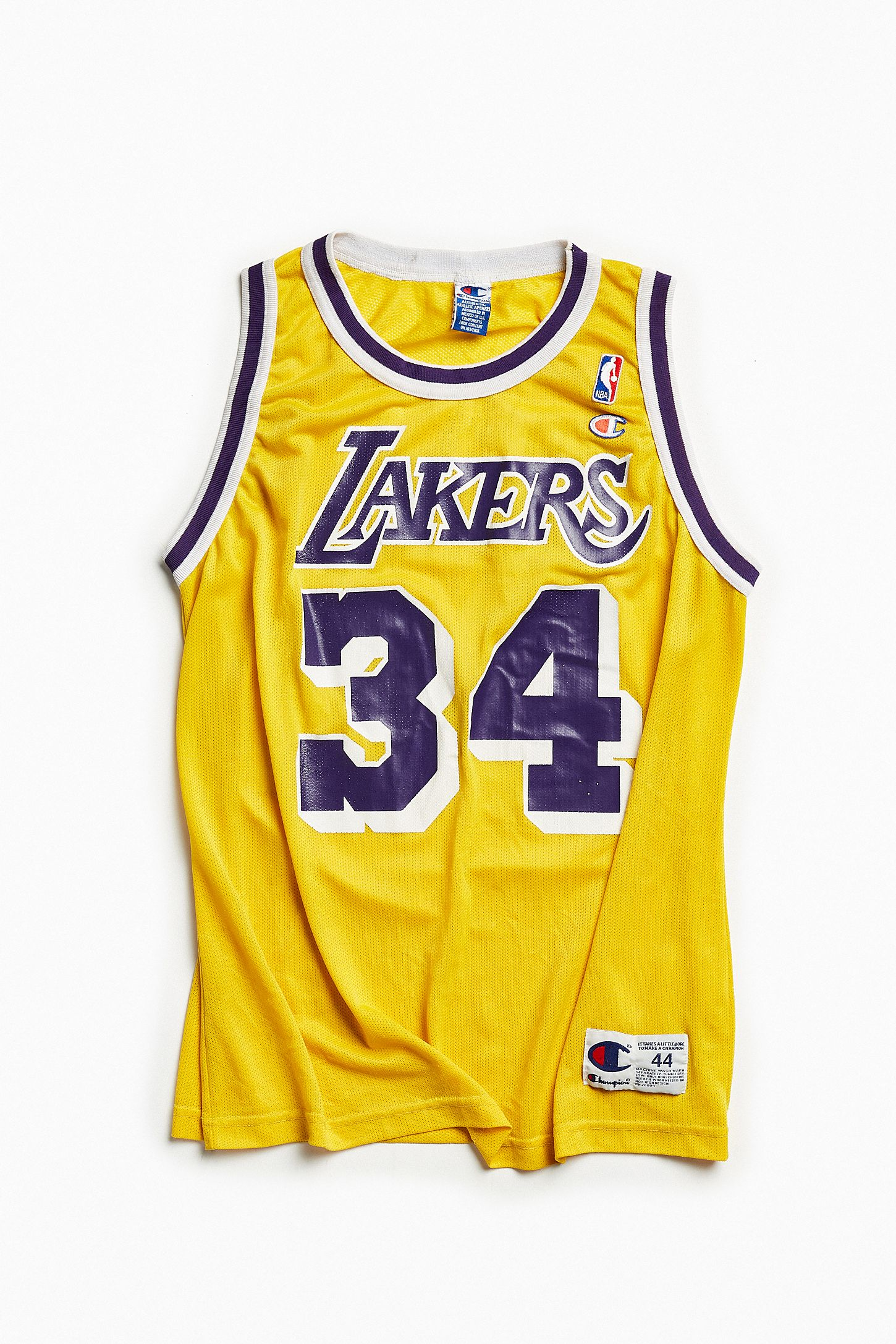 66333a0a6451 Vintage Los Angeles Lakers Shaquille O Neal Basketball Jersey. Tap image to  zoom. Hover to zoom. Double Tap to Zoom