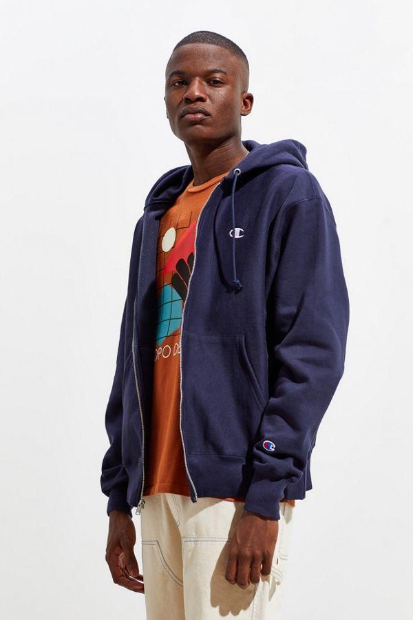 88b4377fefd8 Slide View  1  Champion Reverse Weave Zip-Up Hoodie Sweatshirt