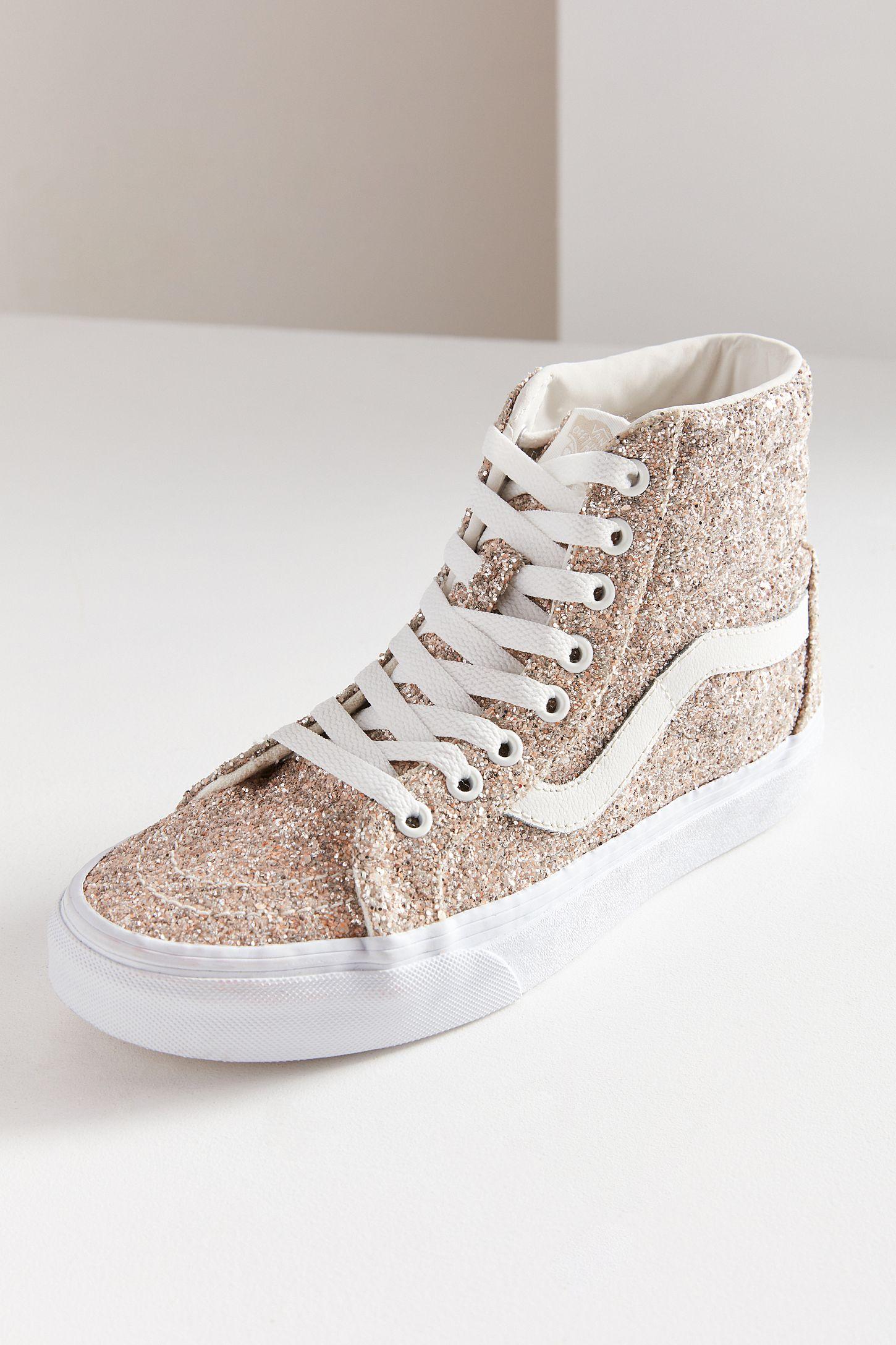1a17e0f281 Vans Chunky Glitter Sk8-Hi Reissue Sneaker