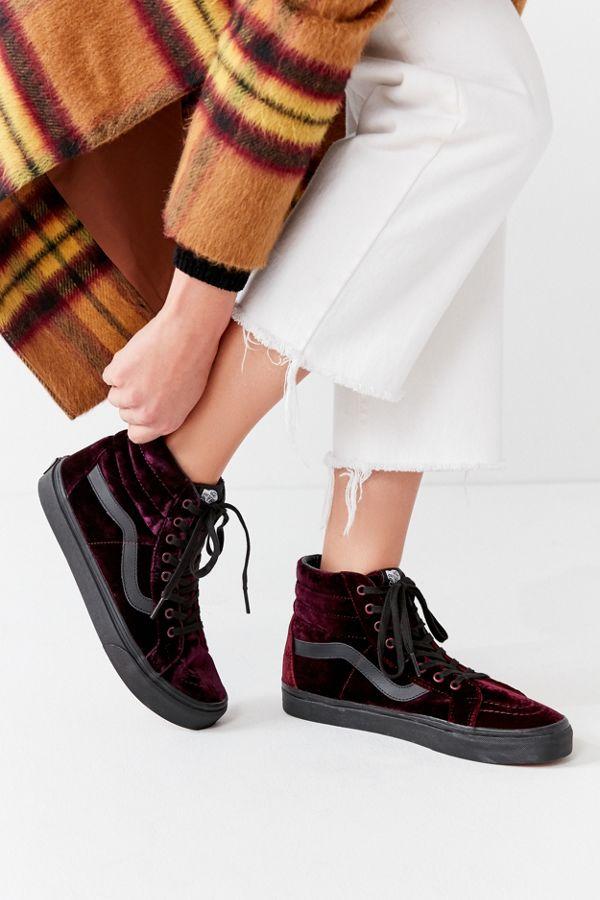 ecb1655e57ea31 Vans Velvet Sk8-Hi Reissue Sneaker