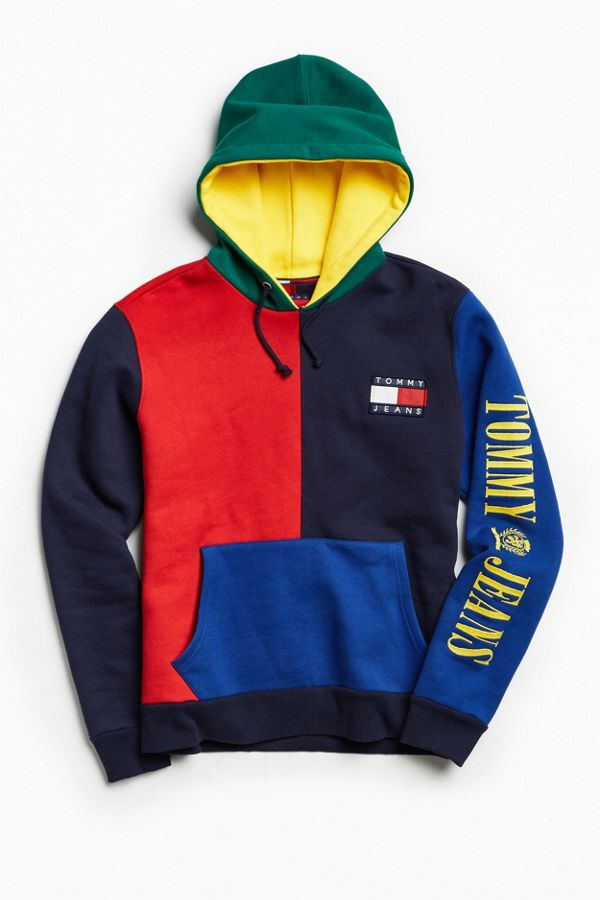 Tommy Hilfiger Robe hoodie color block
