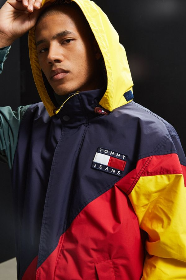 bc0a3ff2 Tommy Hilfiger Colorblocked Sailing Jacket | Urban Outfitters