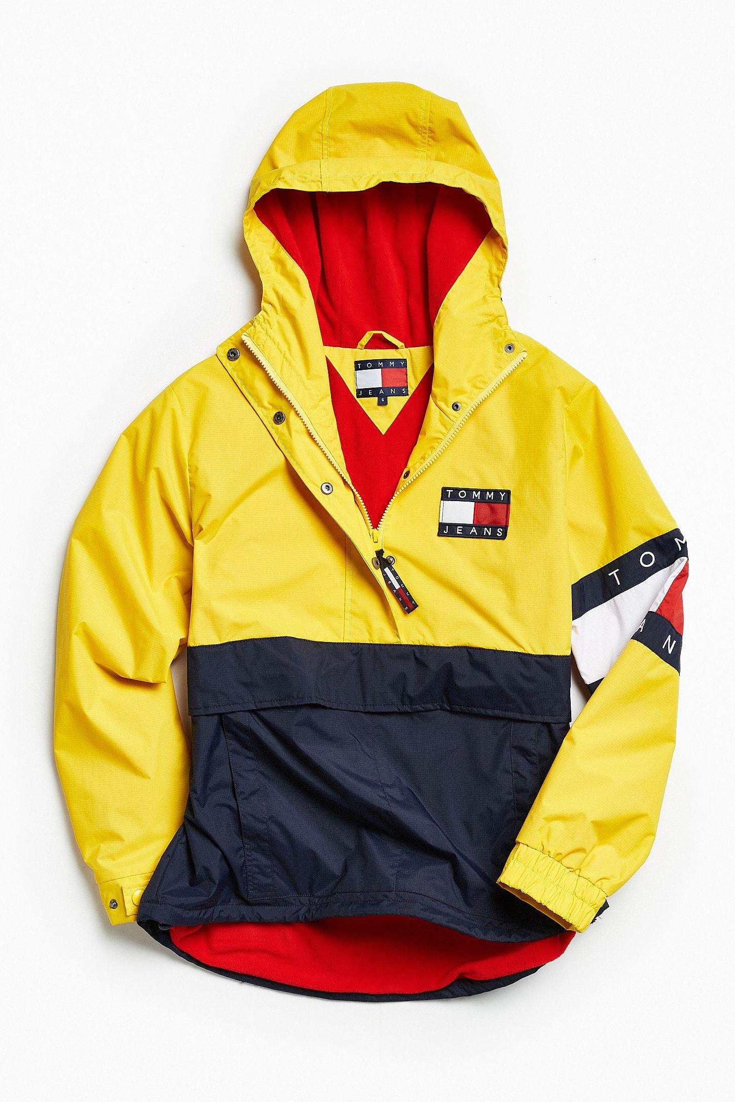 9e3fa796c Tommy Hilfiger Colorblocked Pullover Windbreaker Jacket