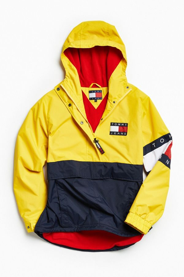 79f2c1bb0 Tommy Hilfiger Colorblocked Pullover Windbreaker Jacket | Urban ...
