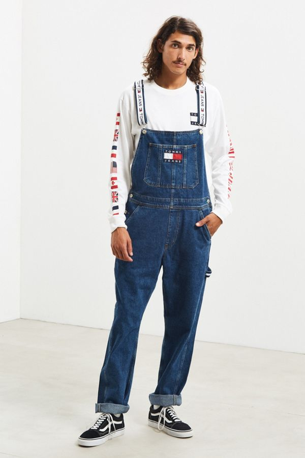 factory price 2019 professional well known Tommy Jeans Denim Overall