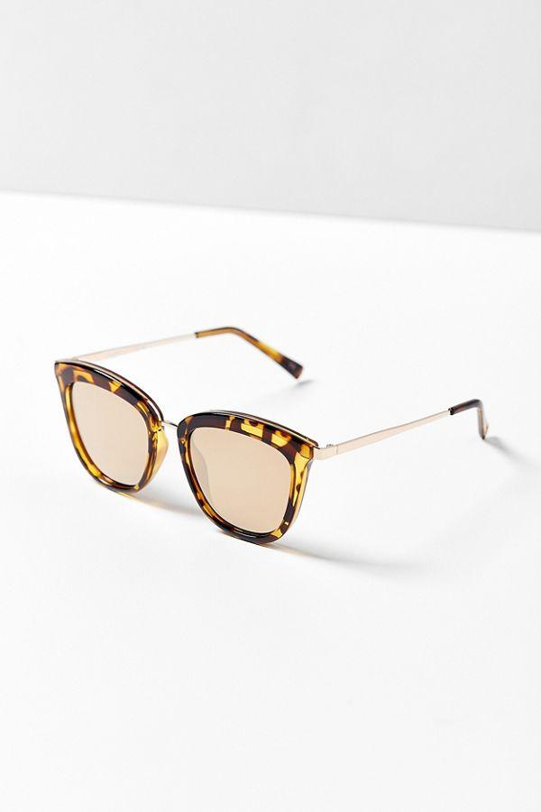 ceff63e596c Le Specs Caliente Cat-Eye Sunglasses