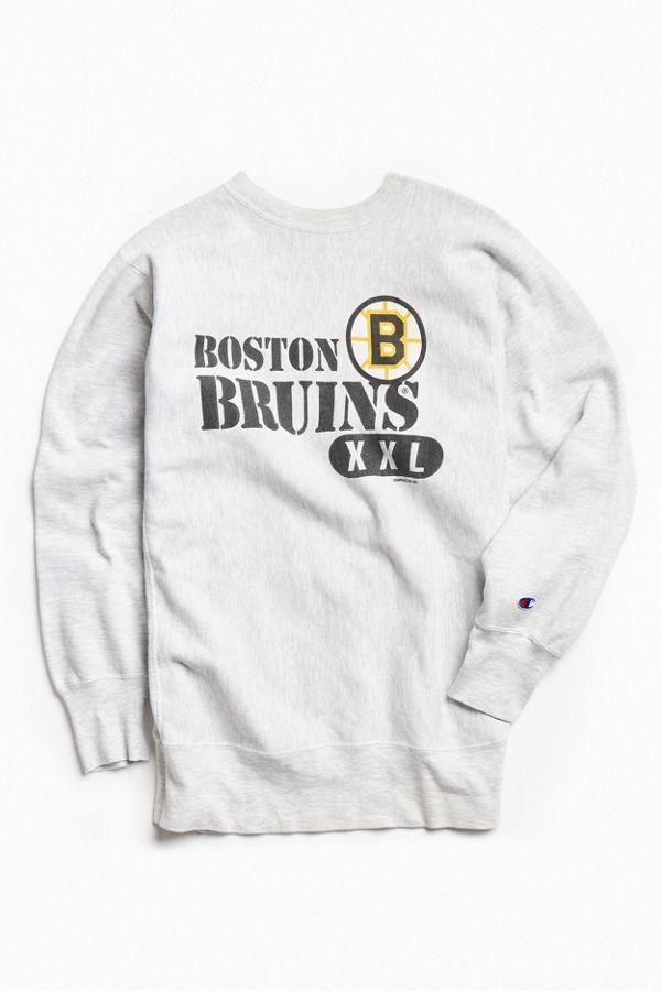 huge discount e44a9 08002 Vintage NHL Boston Bruins Crew Neck Sweatshirt
