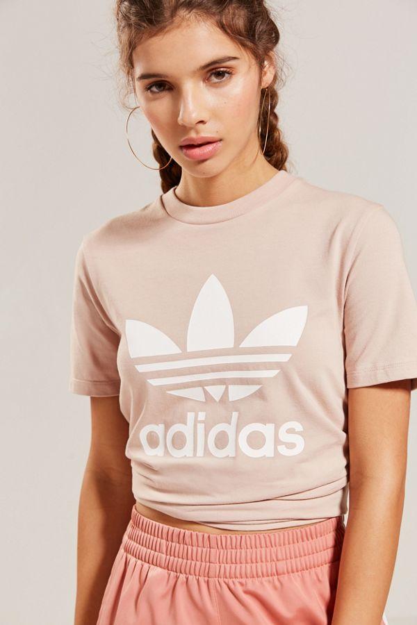 adidas Originals Adicolor Trefoil Crew Neck Tee