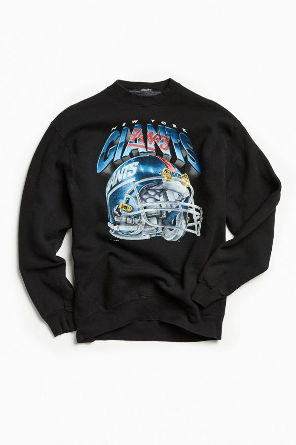 Wholesale Vintage New York Giants Black Crew Neck Sweatshirt | Urban Outfitters  hot sale