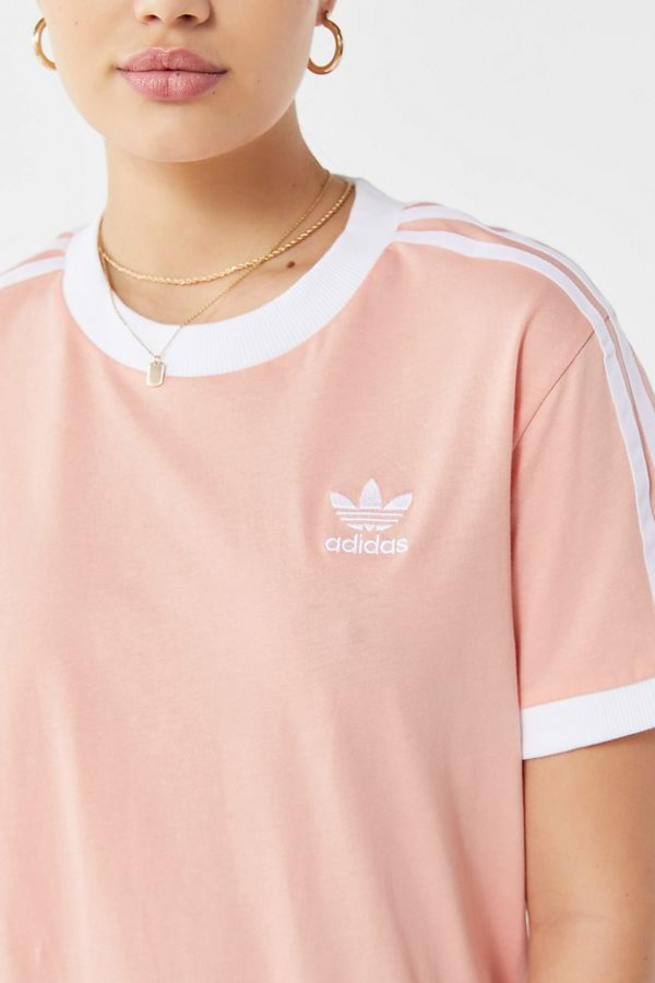 23d38029 adidas Originals 3-Stripes Ringer Tee | Urban Outfitters