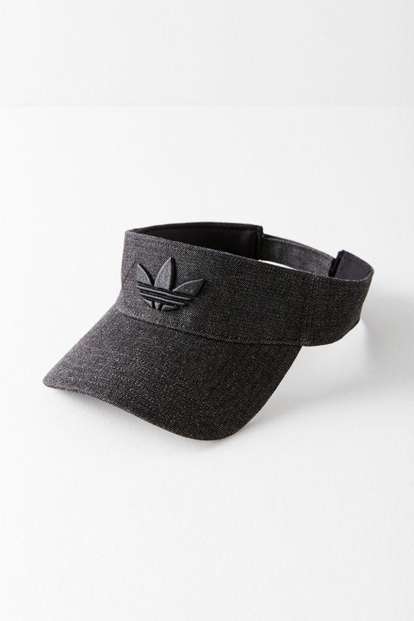 d4c37ac5a33c4 adidas Originals Black Trefoil Visor | Urban Outfitters Canada