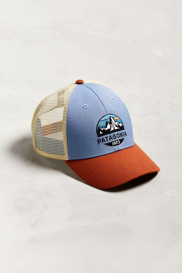 Patagonia Fitz Roy Lo-Pro Trucker Hat