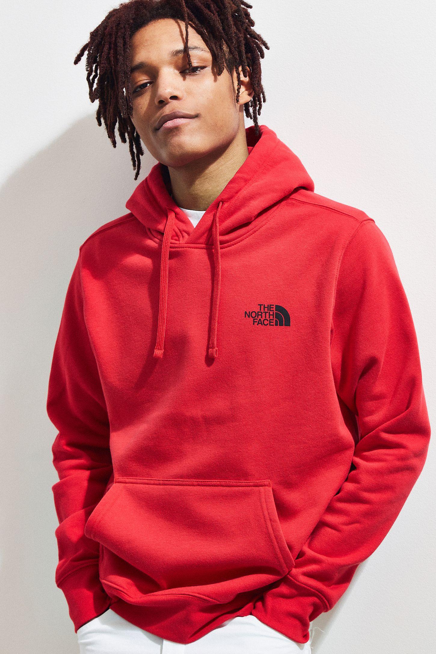 eaba4f0c91c0 The North Face Red Box Logo Hoodie Sweatshirt