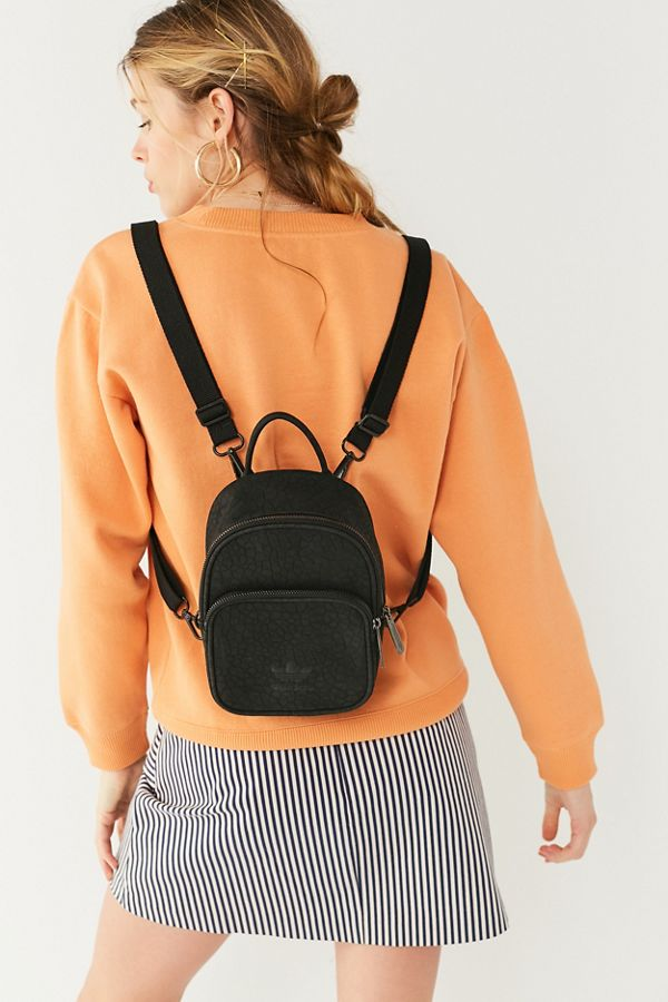 1695a45385b5 adidas Originals Classic Mini Faux Leather Backpack